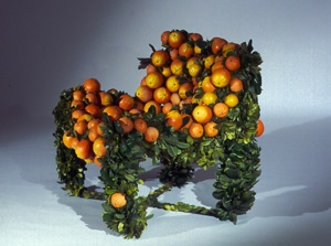 Orange Chair - De Rerum Natura 1993.