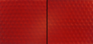Private View Too (diptych) 1994 75 x 75cm  (x2)