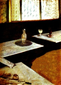 Le Absinthe. 1876 - 1999. Keith Ball / Edgar Degas.